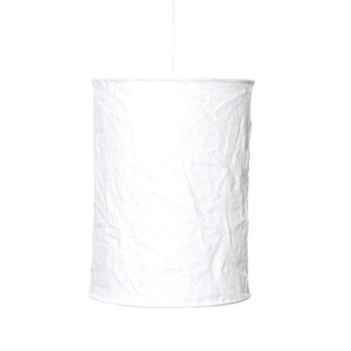 Linen Light Shade Tall | White