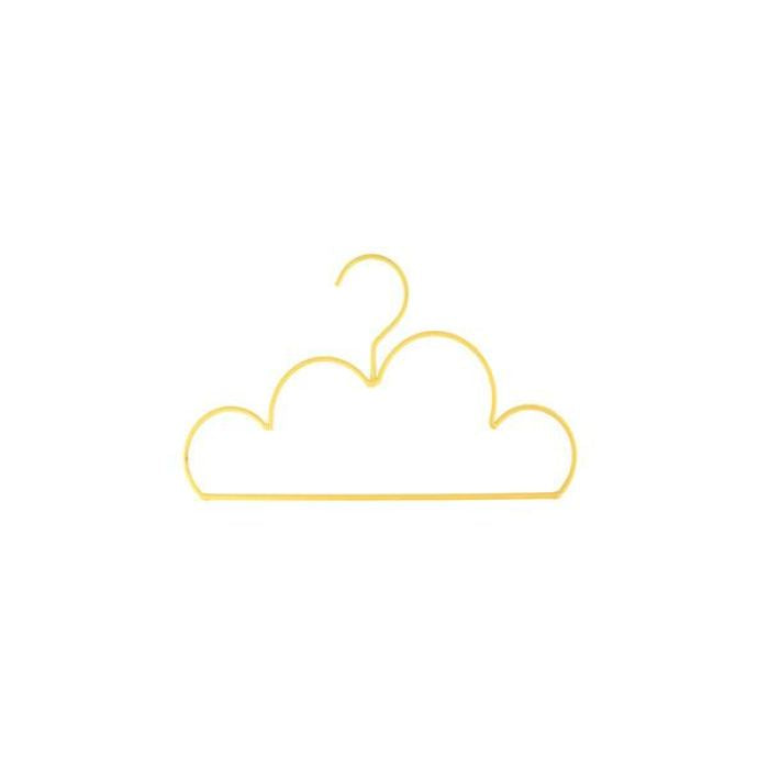 Mini Cloud Coat Hanger | Sunshine