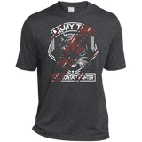 Dri-Fit Moisture-Wicking Tee - Red Tiger