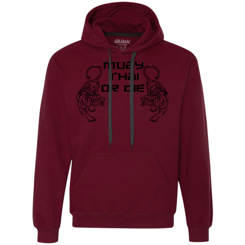 Heavyweight Pullover Fleece Sweatshirt - Muay Thai or Die