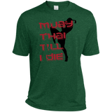 Dri-Fit Moisture-Wicking Tee - Muay Thai Till I Die