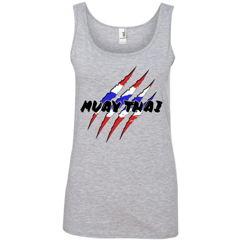 Ladies Cotton Tank Top - Claws