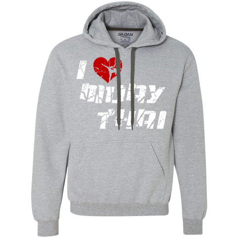 Heavyweight Pullover Fleece Sweatshirt - I Love