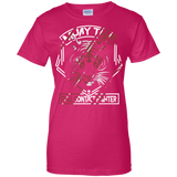 Ladies Cotton T-Shirt - Red Tiger
