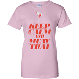 Ladies Cotton T-Shirt  - Keep Calm