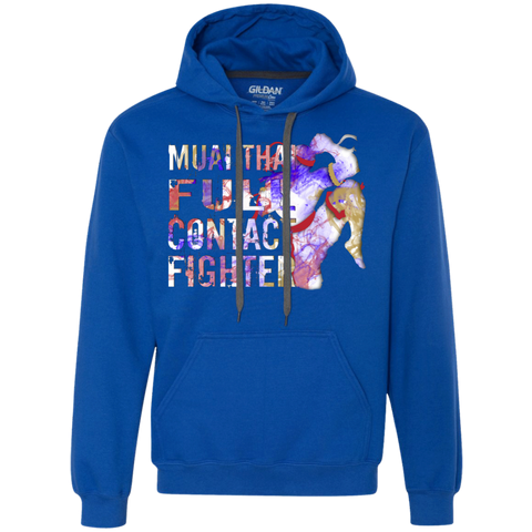 Heavyweight Pullover Fleece Sweatshirt - Color Fighter
