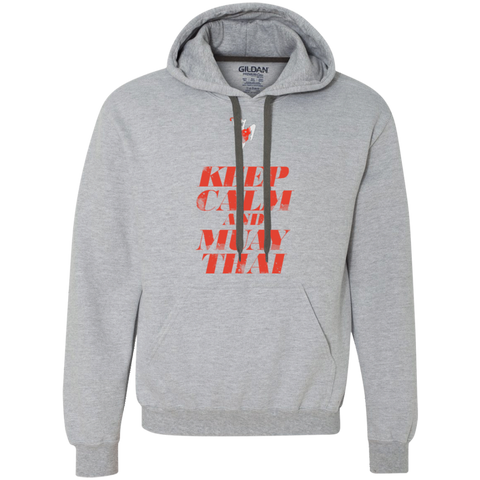 Heavyweight Pullover Fleece Sweatshirt - Keep Calm