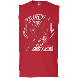 Cotton Sleeveless Tee - Red Tiger
