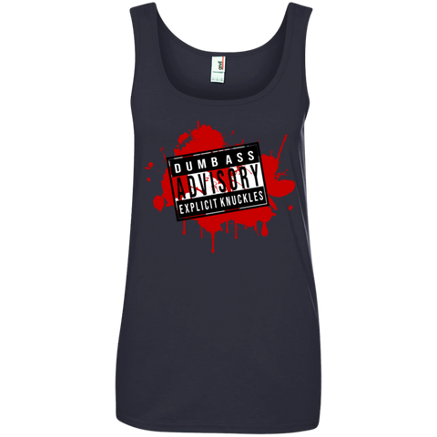 Ladies Cotton Tank Top - ExplicitKnuckles