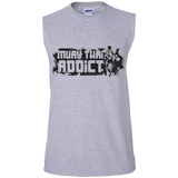Cotton Sleeveless Tee - Addict