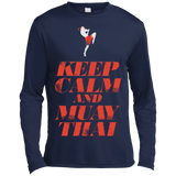 Long Sleeve Moisture Absorbing Shirt - Keep Calm