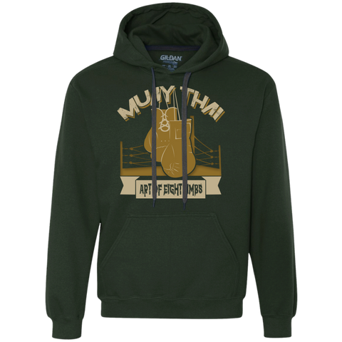 Heavyweight Pullover Fleece Sweatshirt - Golden Gloves