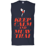 Cotton Sleeveless Tee - Keep Calm