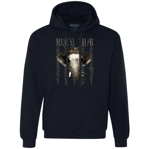 Heavyweight Pullover Fleece Sweatshirt - Elephant & Sak