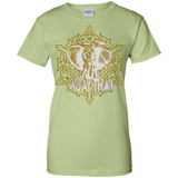 Ladies Cotton T-Shirt - Elephant