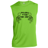Sleeveless Performance T-Shirt - Muay Thai or Die