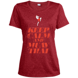 Ladies Dri-Fit Moisture-Wicking Tee - Keep Calm - NAK MUAY STORE