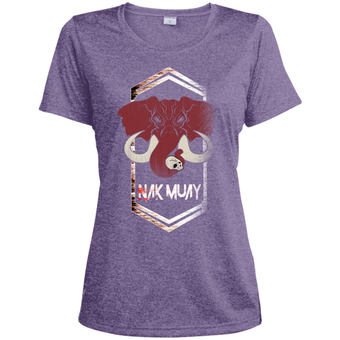 Ladies Dri-Fit Moisture-Wicking Tee - NakMuay1 - NAK MUAY STORE