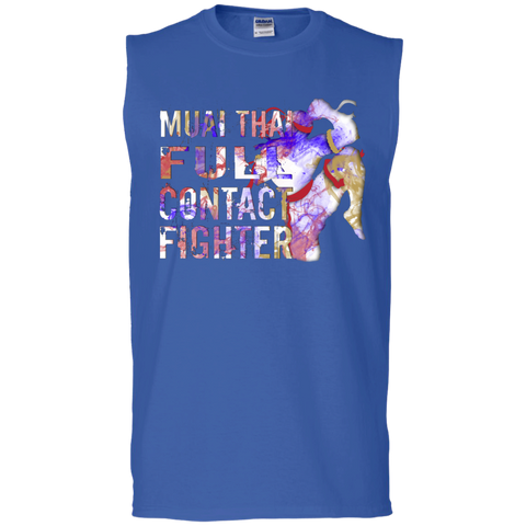 Cotton Sleeveless Tee - Color Fighter