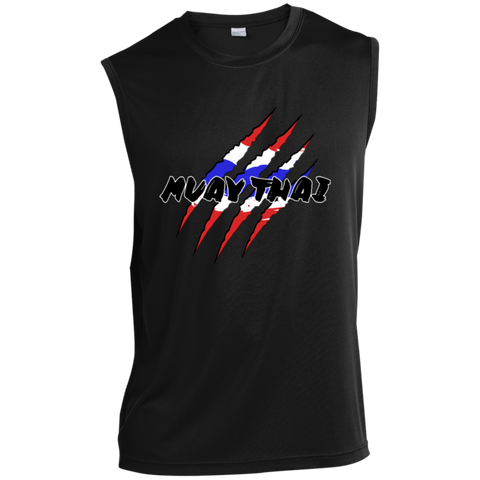 Sleeveless Performance T-Shirt - Claws