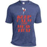 Dri-Fit Moisture-Wicking Tee - Keep Calm