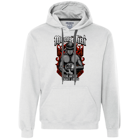 Heavyweight Pullover Fleece Sweatshirt - Art of Eight Limbs