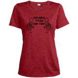 Ladies Dri-Fit Moisture-Wicking Tee - Muay Thai or Die - NAK MUAY STORE