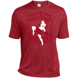 Dri-Fit Moisture-Wicking Tee - Red Fighter