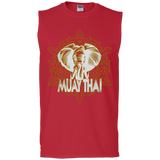 Cotton Sleeveless Tee - Elephant
