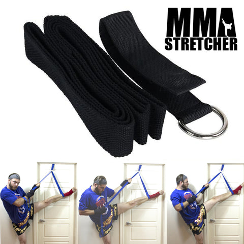 MMA STRETCHER - Portable Leg Stretcher for Martial Arts or Gymnastics Exercise