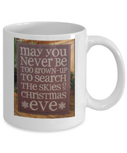 Christmas Eve Mug - Search the Skies