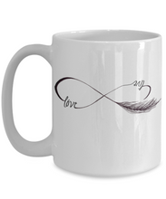 Live Love Mug - Coffee Tea - Wedding and Lovers Gift Mug