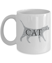 Cat Word Ceramic Mug