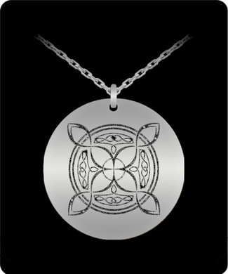 Celtic Knot 20 inch SS Necklace