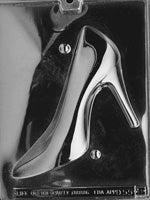 Chocolate Mold- 2 piece High Heel