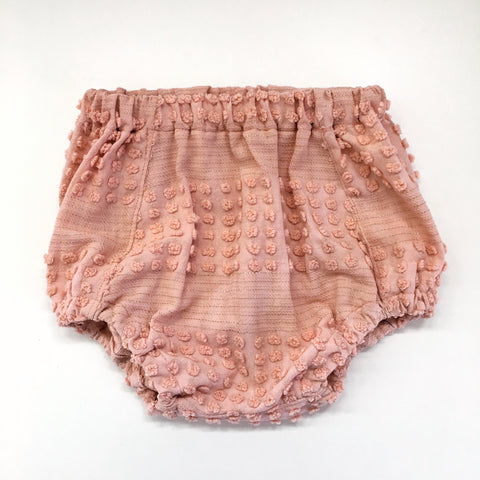 high waisted bloomers / shorties - coral + gold | Tyger Alexis