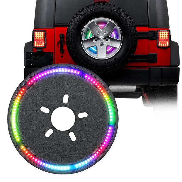 Jeep Wrangler RGB Brake Light