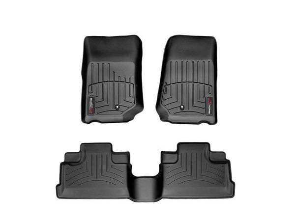 WeatherTech DigitalFit Front & Rear Floor Liner For Jeep Wrangler (JKU 2007-2018)