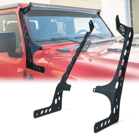 Jeep Wrangler JL & JLU 50 Inch Led Light Bar With Mounts