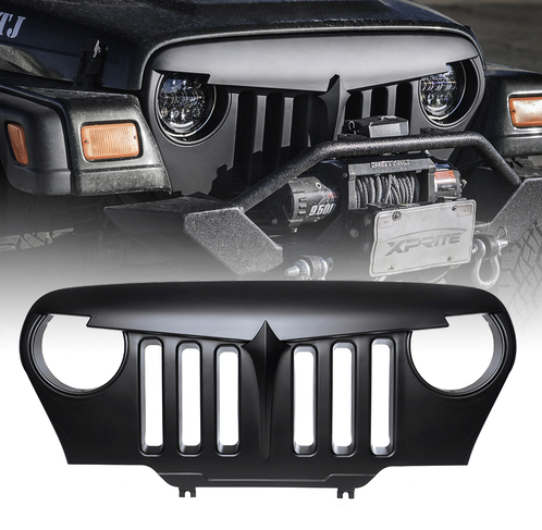 Xprite Angry Bird Grille For Jeep Wrangler (TJ-LJ 1997-2006)