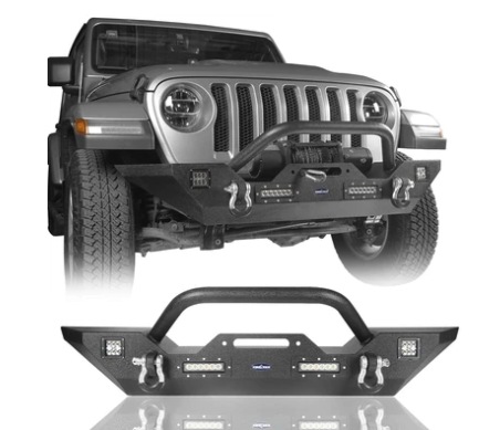 The Rock Crawler | JL Front Bumper