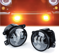 Jeep Wrangler JK/JL/TJ Amber Explore Series Fog Lights (2007-2018+)