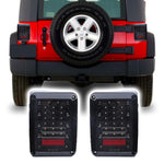 Jeep Wrangler JK & JKU DOT LED Tail Lights (2007-2018)