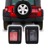 Jeep Wrangler JK & JKU Defender LED Tail Lights (2007-2018)