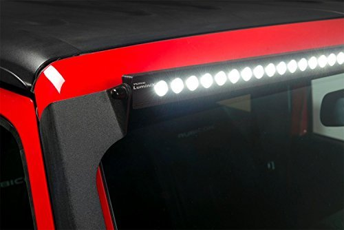 "Putco Luminix 50"" Lightbar LED Kit For Jeep Wrangler (JK-JKU 2007-2018)"