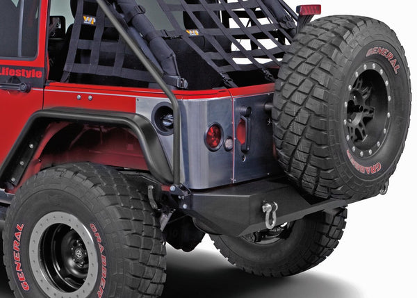Warrior Products Rear Corner Guards For Jeep Wrangler 2007-2018 JKU