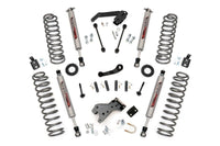 07-16 Jeep Wrangler JK 4WD 4-inch Suspension Lift System - 682S Rough Country