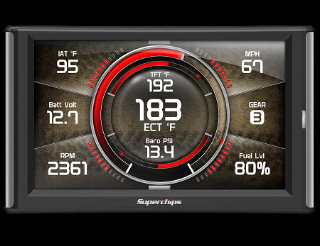 Superchips TrailDash2 Touch Screen Tuner For Jeep Wrangler (TJ-JK 1997-2018)