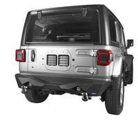 TITAN Diamond Rear Bumper w- LED 's for Jeep Wrangler (JL-JLU 2018+)