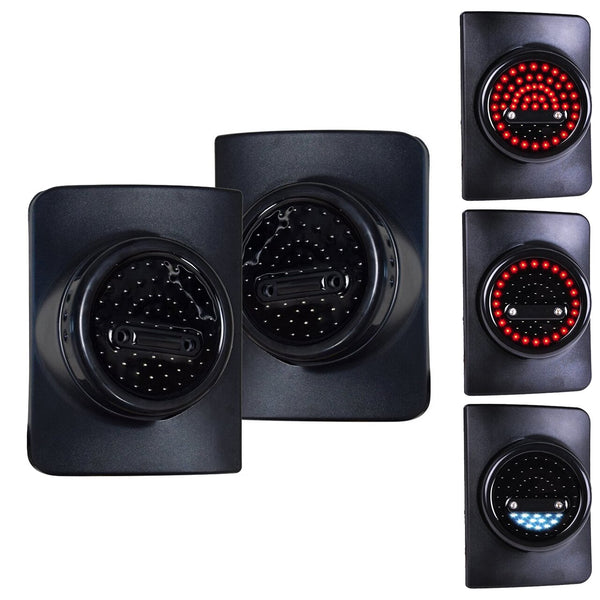 Jeep Wrangler Round LED Taillights for JK-JKU (2007-2018)